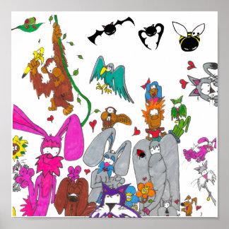 Animal Babaloo Poster