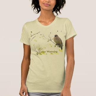 Animal Bird Cedar Waxwing Tee Shirt