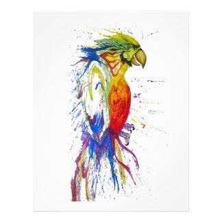 Animal Bird Parrot 21.5 Cm X 28 Cm Flyer