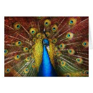 Animal - Bird - Peacock proud Card