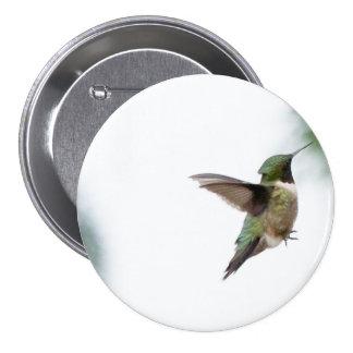 Animal Bird Ruby-throated Hummingbird 7.5 Cm Round Badge