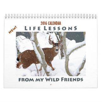 Animal Calendar 2016 - New Life Lessons