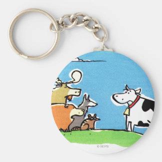 Animal Click Key Chains