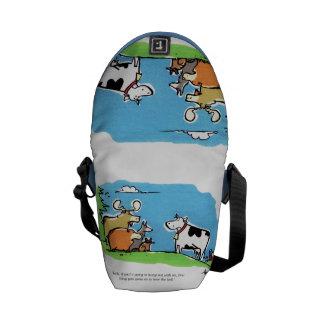 Animal Click Messenger Bags