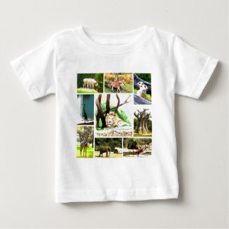 Animal Collage Baby T-Shirt
