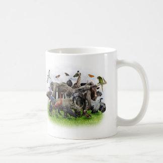 Animal Collage Classic Mug