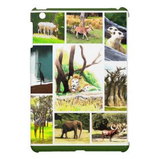Animal Collage iPad Mini Cover
