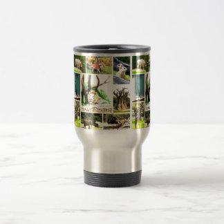 Animal Collage Travel Mug