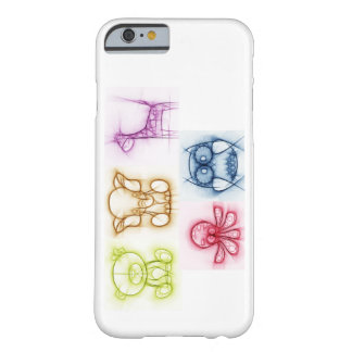 Animal Colors Barely There iPhone 6 Case