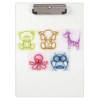 Animal Colors Clipboard