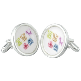 Animal Colors Cuff Links