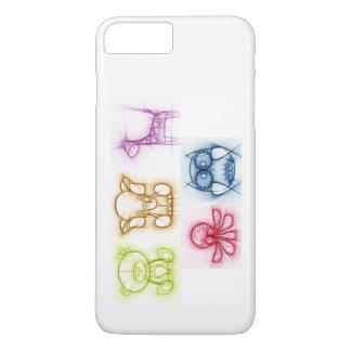 Animal Colors iPhone 8 Plus/7 Plus Case