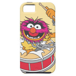 Animal Crashing Through Drums iPhone 5 Cover