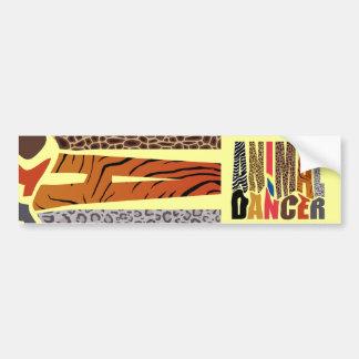 ANIMAL DANCER BUMPER STICKER