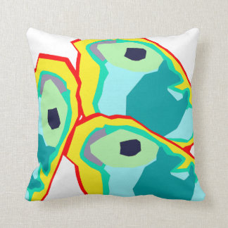 Animal Decor#13d Throw Pillows; Changeable Colors Cushion