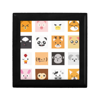 Animal Faces Gift Box
