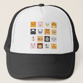 Animal Faces Trucker Hat