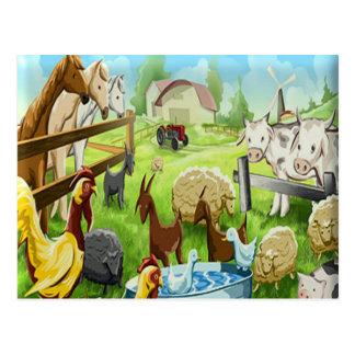 Animal Farm Postcard