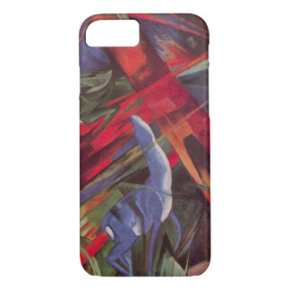 Animal Fates by Franz Marc, Vintage Cubism Art iPhone 7 Case