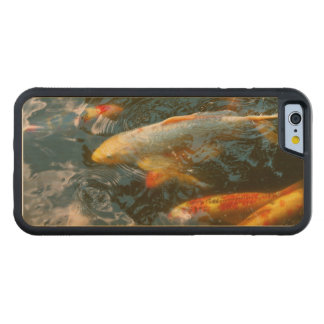 Animal - Fish - Bestow good fortune Carved Maple iPhone 6 Bumper Case