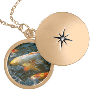 Animal - Fish - Bestow good fortune Locket Necklace