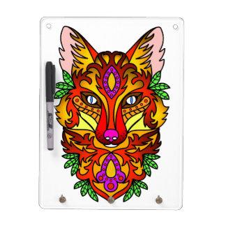 Animal Fox Dry Erase Board