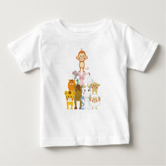 Animal Friends Baby T-Shirt