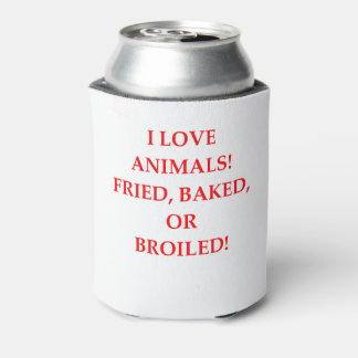 animal hater can cooler