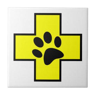 animal help cross veterinary symbol sign doctor pe ceramic tile