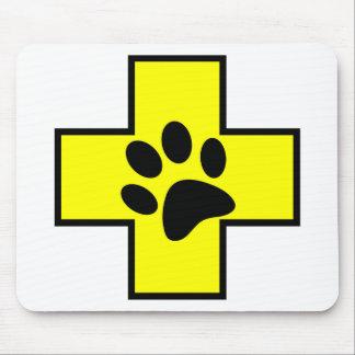 animal help cross veterinary symbol sign doctor pe mouse pad