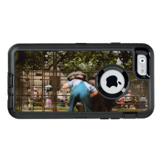 Animal - Hippo - Stupid human tricks 1910 OtterBox Defender iPhone Case