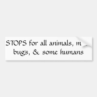 Animal, insect, bug lover sticker bumper sticker