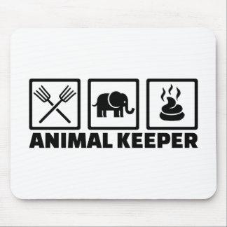Animal keeper mouse pad