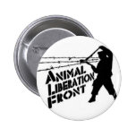 Animal Liberation Front Pinback Button