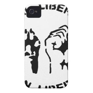 Animal LIberation - Human Liberation iPhone 4 Case-Mate Case