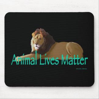 """Animal Lives Matter"" Lion Mousepad"