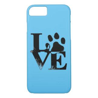 Animal Love Paw Print Phone Case