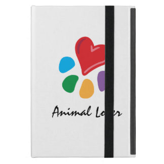 Animal Lover_Heart-Paw Cover For iPad Mini