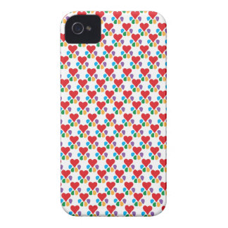Animal Lover_Heart-Paw (pattern) iPhone 4 Covers