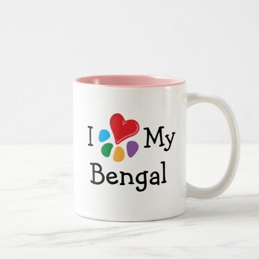 Animal Lover_I Heart My Bengal Mugs