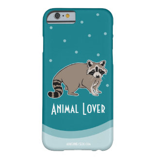 Animal Lover - Raccoon Friend Barely There iPhone 6 Case
