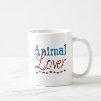Animal Lover (red/blue) Coffee Mug