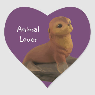Animal Lover Seal Stickers