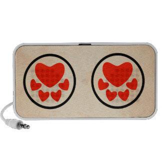 Animal Lover Sign Travel Speakers
