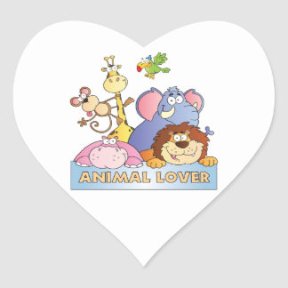 Animal Lover Stickers
