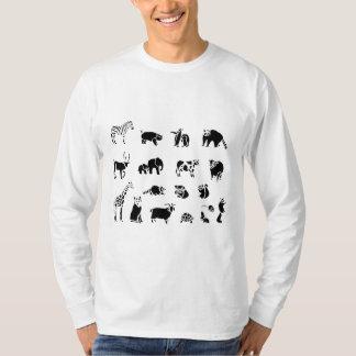 Animal Mammal Collage Tshirt
