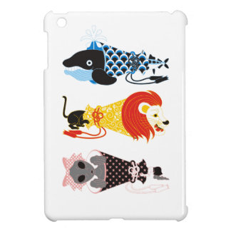 Animal megaphone…Fish cat woman (ANIMAL MEGAPHONE iPad Mini Cover