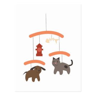 Animal Mobile Postcard