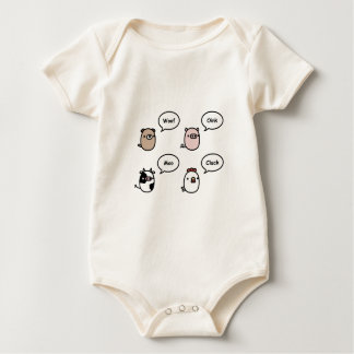 Animal Noises Baby Bodysuit