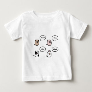 Animal Noises Baby T-Shirt